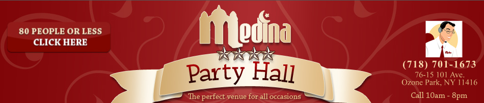 Medina Hall Brooklyn Party Hall Party Halls and venues in Queens